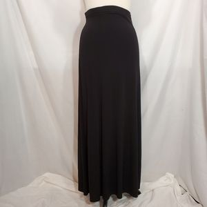 Casual Corner Black Maxi Skirt